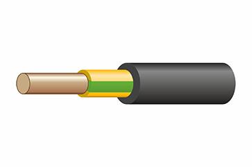 ВВГнг(А)-LS  1х1,5  ок-0,66  ж/з.