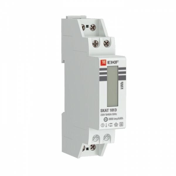 Счетчик электрической энергии модульный SKAT 101Э/1 - 5(40) Ш Р M EKF | 10106M | EKF