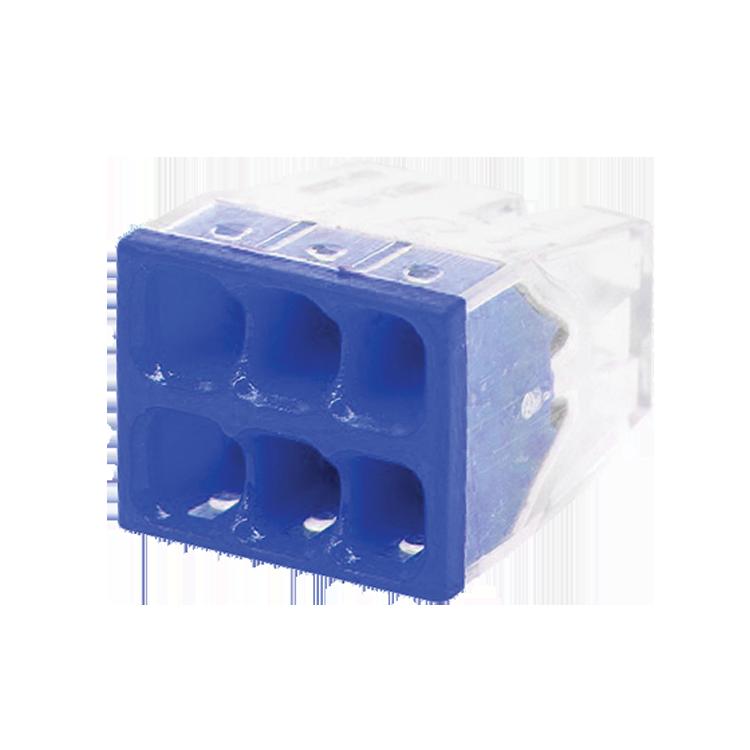 Строительно-монтажная клемма СМК 772-206 (4штук/упаковка)   4690612027388   IN HOME